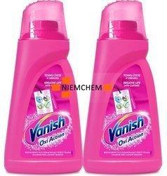 Vanish Oxi Action Pink Kolor Odplamiacz Płyn 2 x 1L PL