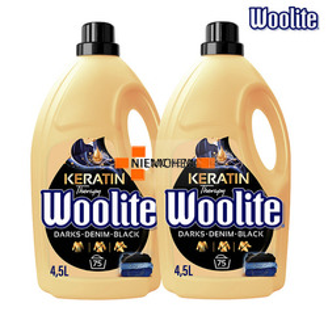 Woolite Dark Płyn do Prania Ciemnego Jeans'u 150pr 2 x 4,5L