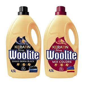 Woolite Mix Colors + Dark Płyn do Prania 150pr 2 x 4,5L