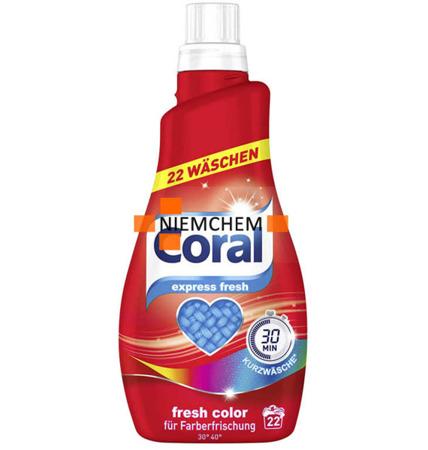 Coral Fresh Color Kolor Żel Prania 22pr 1,1L DE