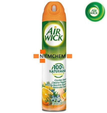 Air Wick Anti Tobacco Odświeżacz Spray 240ml WYPRZEDAŻ