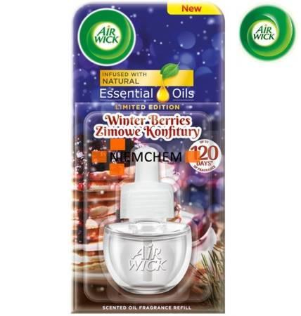 Air Wick Electrical Winter Berries Odświeżacz Wkład 19ml