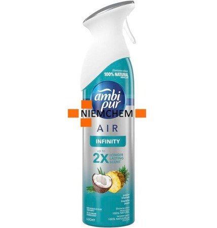 Ambi Pur Infinity Tropische Passie Odświeżacz Powietrza Spray 300ml