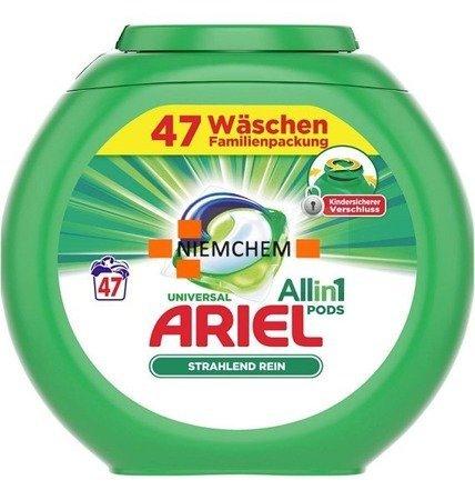 Ariel All in 1 Universal Kapsułki do Prania 47szt DE WYPRZEDAŻ