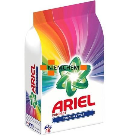 Ariel Color Compact Proszek do Prania 18pr 1,35kg BE