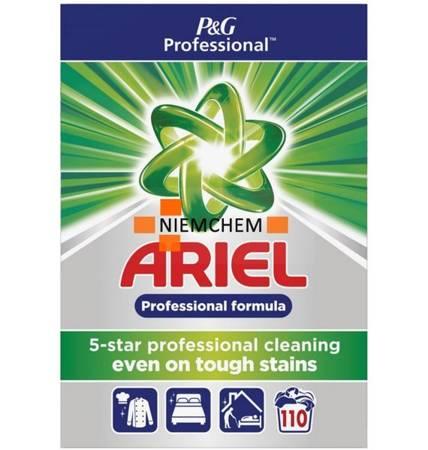 Ariel Professional Proszek do Białego 110pr 7,15kg DE WYPRZEDAŻ