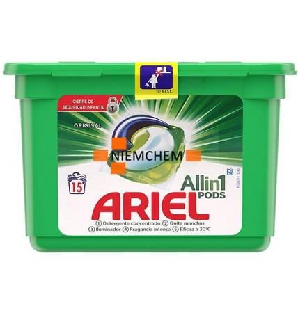 Ariel Universal Kapsułki Prania All-in-1 15szt ES