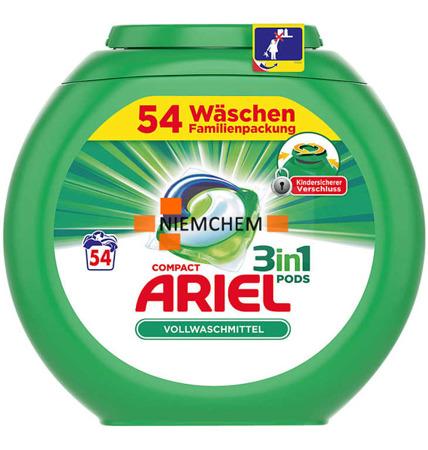Ariel Universal Pods Kapsułki Prania 3w1 54szt DE