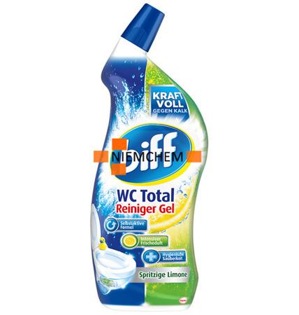 Biff Wc Total Limone Cytrynowy Żel do Wc 750ml DE