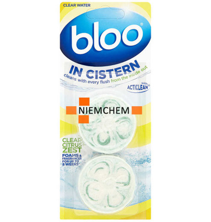 Bloo Citrus Zest Kostki do Spłuczki WC 2szt UK