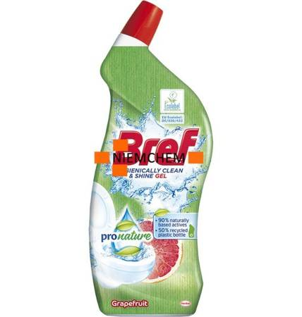 Bref ProNature Grapefruit Grejpfrut Żel do Toalety WC 700ml