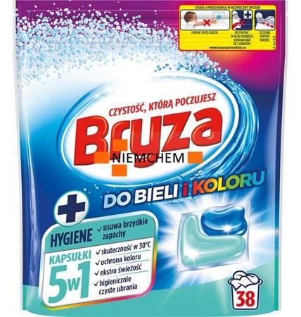 Bryza 5w1 Hygiene Kapsułki do Prania Bieli i Koloru 38szt