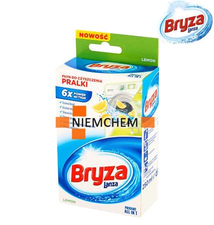 Bryza Lanza Lemon Cytrynowy Płyn do Czyszczenia Pralki 250ml