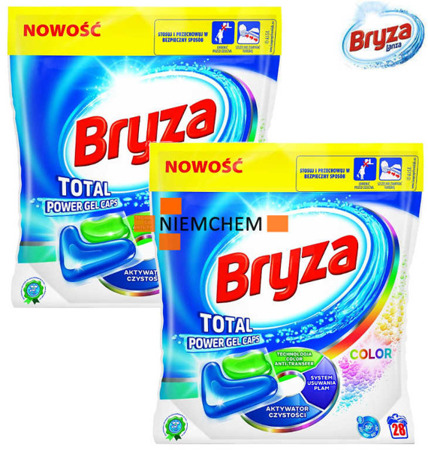 Bryza Lanza Total Power Color Kapsułki do Prania 56szt