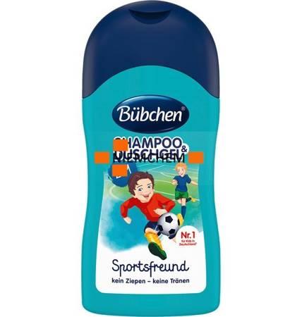 Bubchen Sport Szampon i Żel do Kąpieli dla Dzieci 50ml DE