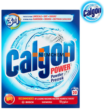 Calgon Proszek 3w1 Odkamieniacz do Pralki 500g 20pr