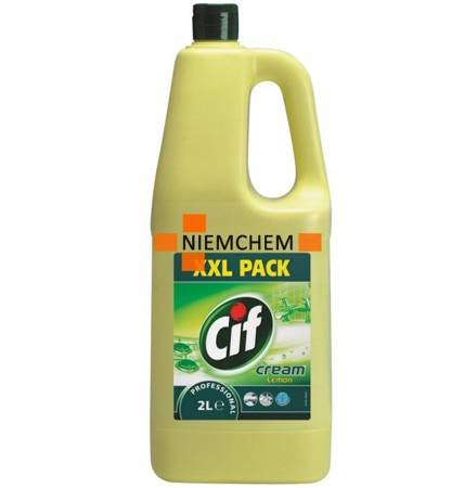 Cif Mleczko Professional Cream Lemon 2L XXL
