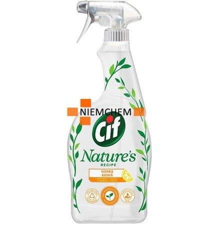 Cif Natures Kuchnia Spray do Czyszczenia 750ml