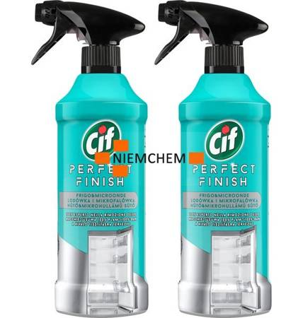Cif Perfect Finish Lodówka i Mikrofalówka Spray do Czyszczenia 2 x 435ml