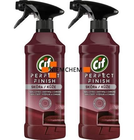 Cif Perfect Finish Skóra do Czyszczenia Skóry Spray 2 x 435ml