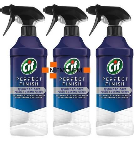 Cif Perfect Finish na Pleśń i Czarne Osady Spray 3 x 435ml