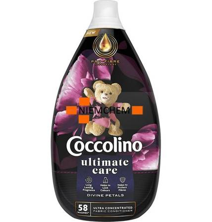 Coccolino Ultimate Care Divine Petals Płyn do Płukania 58pr 870ml.