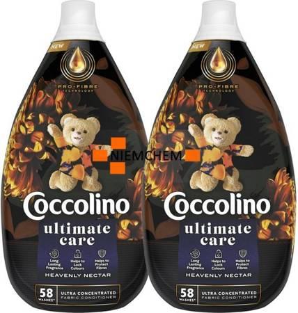 Coccolino Ultimate Care Heavenly Nectar Płyn do Płukania 116pr 2 x 870ml.