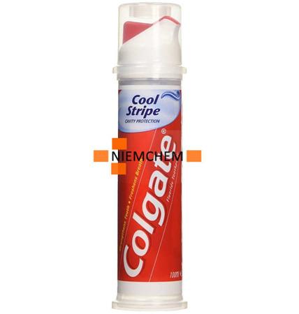 Colgate Cavity Cool Stripe Pasta do Zębów Pompka Tuba 100ml UK