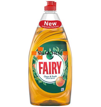 Fairy Clean Fresh Citrus Grove  Płyn do Naczyń 520ml UK