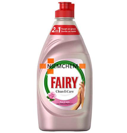 Fairy Derma Protect Róża Satyna Płyn do Mycia Naczyń 820ml Unikat UK
