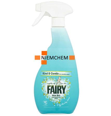 Fairy Non Bio Delikatny Odplamiacz Spray 500ml UK