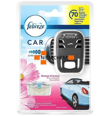 Febreze Ambi Pur Car Blossom Breeze Zestaw UK