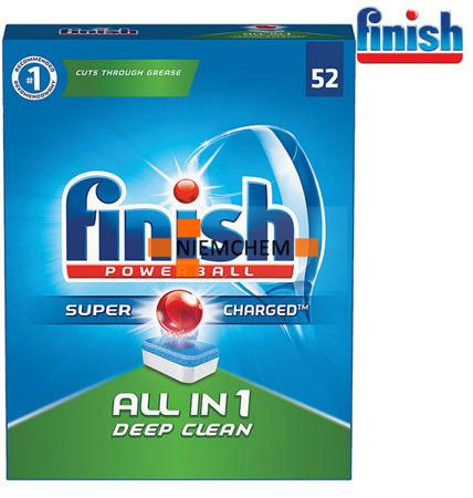 Finish All-in-1 Super Tabletki do Zmywarki 52szt