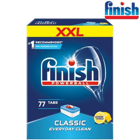 Finish Classic Lemon Tabletki do Zmywarki 77szt