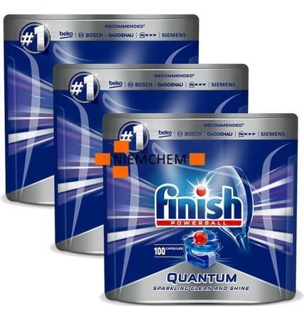Finish Quantum Max Tabletki do Zmywarki 300szt XL PP