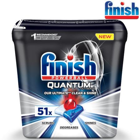 Finish Quantum Ultimate Kapsułki do Zmywarki 51szt