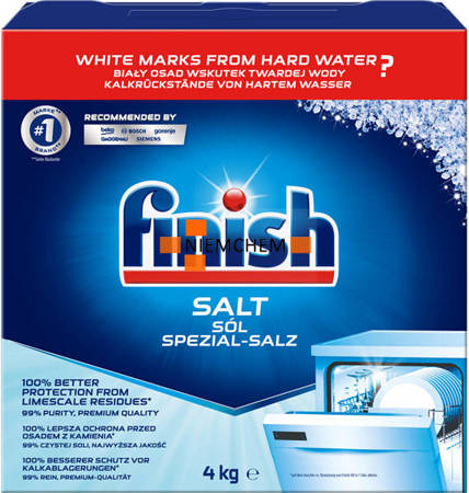 Finish Sól do Zmywarki Gruboziarnista 4kg