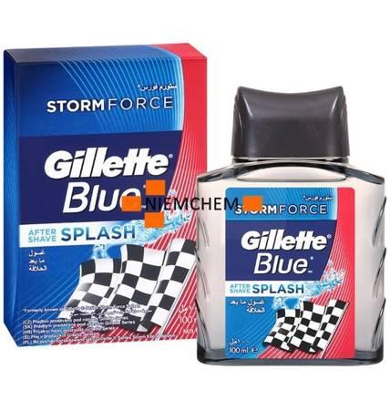 Gillette Blue Storm Force Woda po Goleniu 100ml