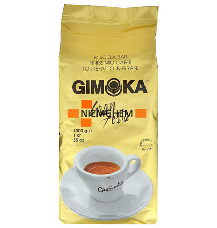 Gimoka Gran Festa Włoska Kawa Ziarnista 1kg IT