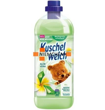 Kuschelweich Aloe Vera Zielony Płyn do Plukania 33pr 1L DE