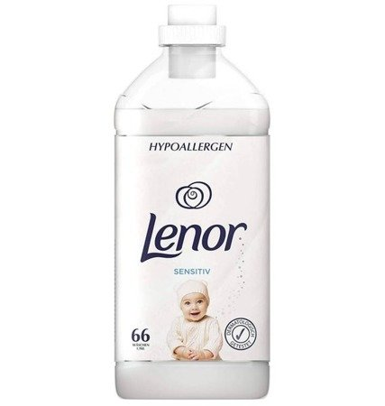 Lenor Sensitive Płyn do Płukania 1,98L 66pr DE