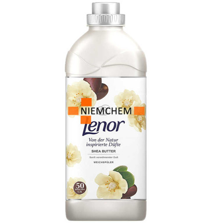Lenor Shea butter Płyn do Płukania 50pr 1,5L DE