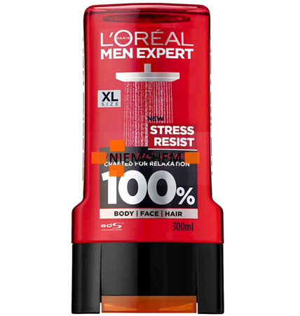 Loreal Men Expert Żel pod Prysznic Stress Resist 300ml UK