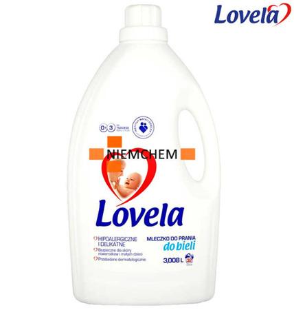 Lovela Mleczko do Prania Białego dla Dzieci i Niemowląt 3L
