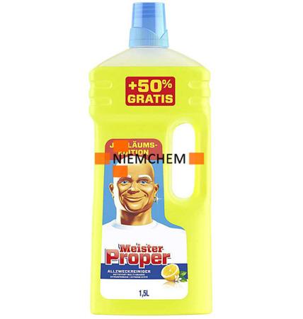 Mr Proper Citrusfrische Płyn do Mycia Podłóg 1,5L DE