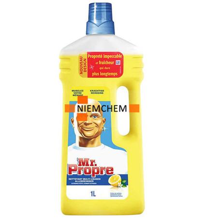 Mr Proper Lemon Cytrynowy Płyn do Mycia Podłóg 1L
