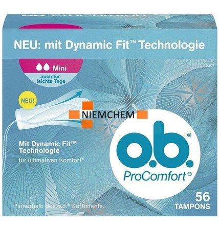 Ob Pro Comfort Mini Tampony 56szt DE