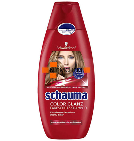 Schauma Color Glanz Kolor Szampon do Włosów Farbowanych 400ml DE