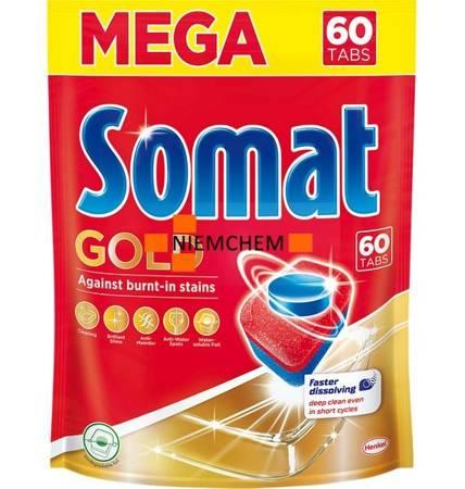 Somat Gold Tabletki do Zmywarki Mega 60szt