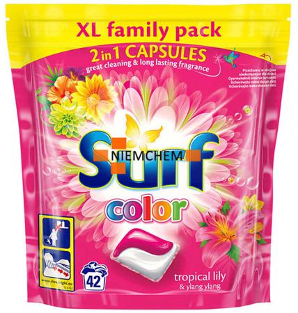 Surf Color Tropical Lily & Ylang Ylang Kapsułki do Prania 42szt